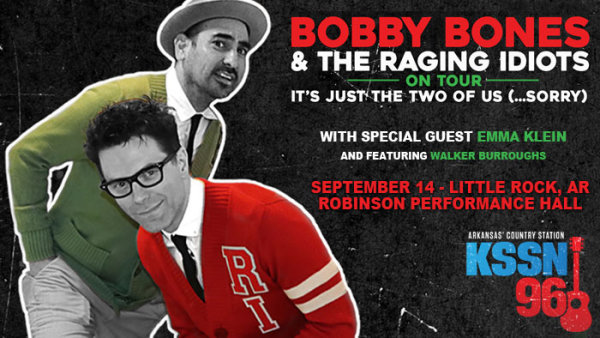 None - Meet Bobby Bones and Win Raging Idiots Tickets!