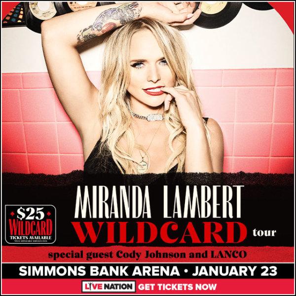 None - Win Miranda Lambert Concert Tickets!