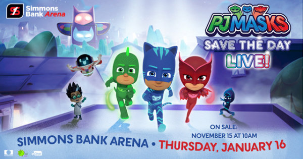 None - Win PJ Masks Save The Day LIVE Tickets!