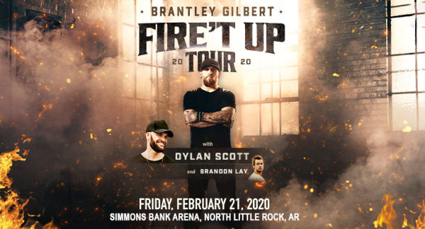 None - Brantley Gilbert Fire't Up Date Night with KSSN 96!