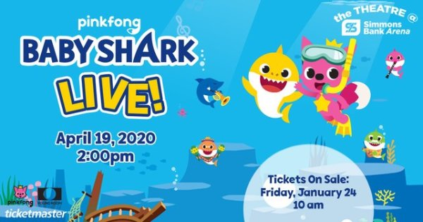 None - Win A Family Four Pack To Baby Shark LIVE with KSSN 96!