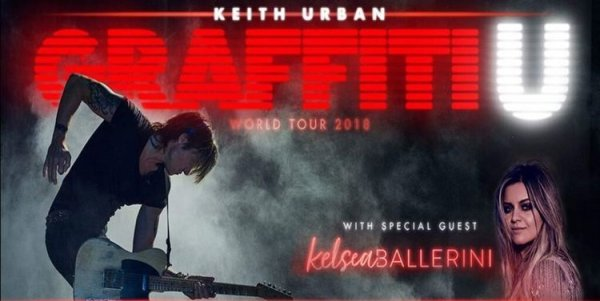 None - See Keith Urban LIVE!