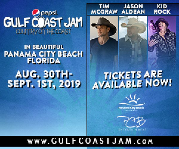 None - Party at the beach for Pepsi Gulf Coast Jam!