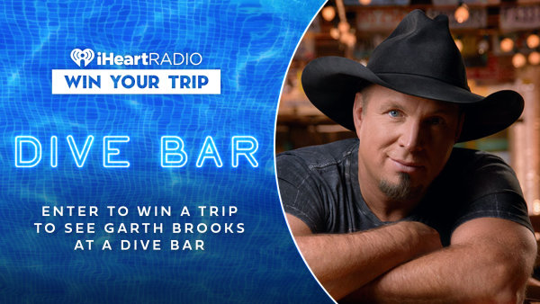 None - Win a flyaway trip to see Garth Brooks!