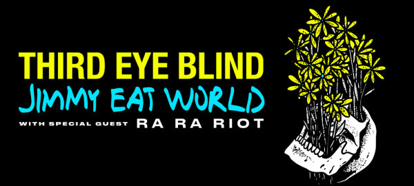 None - Win a pair of tickets to see Third Eye Blind & Jimmy Eat World at PNC Pavilion!