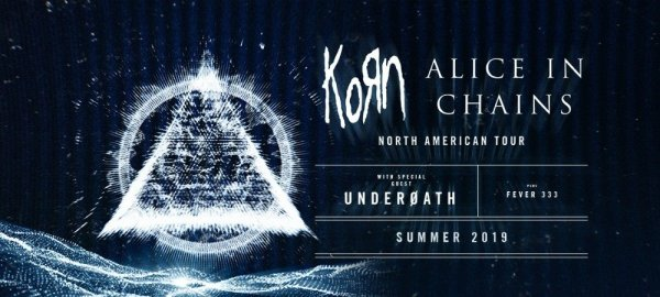 Win a pair of tickets to see Korn & Alice In Chains at Riverbend Music Center!