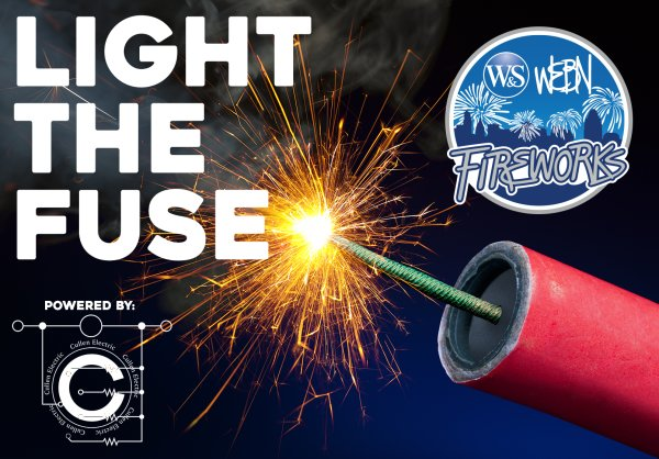 None - Light the Fuse at the 2019 Western & Southern WEBN Fireworks, thanks to Cullen Electric!