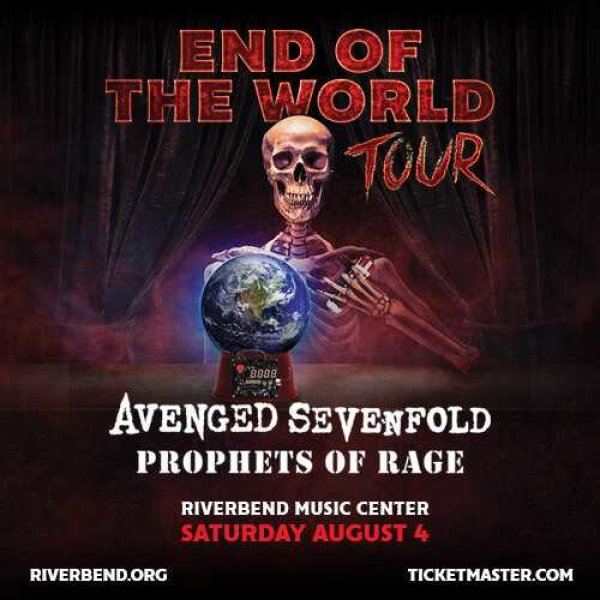 Win tickets to see Avenged Sevenfold and Prophets of Rage at Riverbend Music Center!