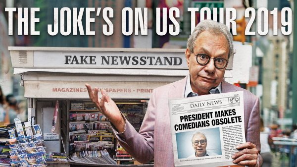 None - Win a pair of tickets to see Lewis Black at Taft Theatre!