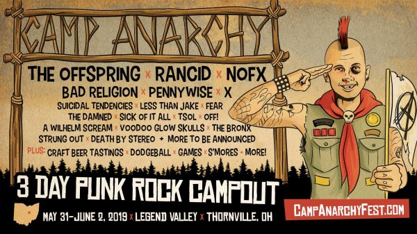 None - Win a pair of weekend passes to Camp Anarchy!