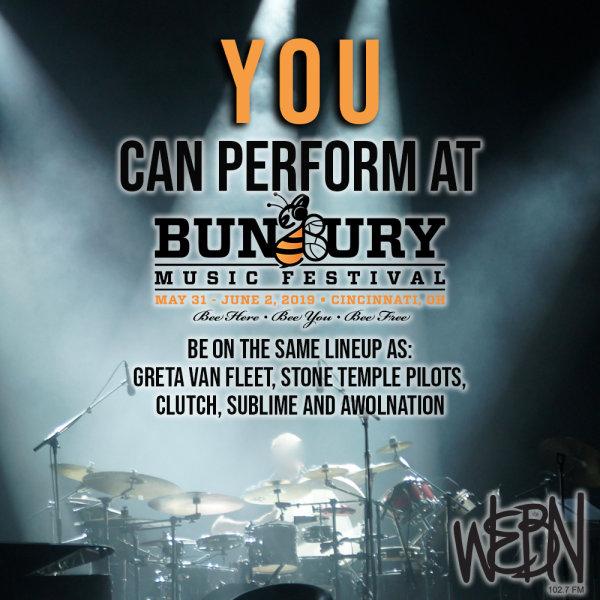 None - Perform at Bunbury 2019!