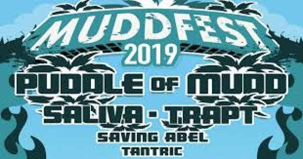 None - Win a pair of tickets to MUDDFEST 2019 featuring Puddle of Mudd, Saliva, Trapt, & more!