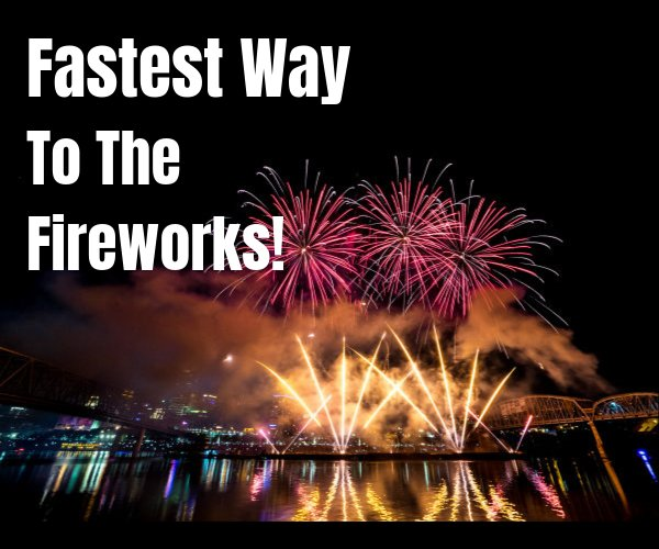 None - Fastest Way To The Fireworks, presented by Western & Southern!