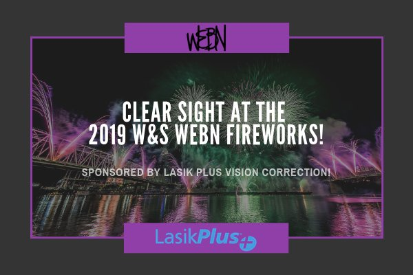 None - Clear Sight at the Western & Southern WEBN Fireworks, brought to you by Lasik Plus Vision Correction!