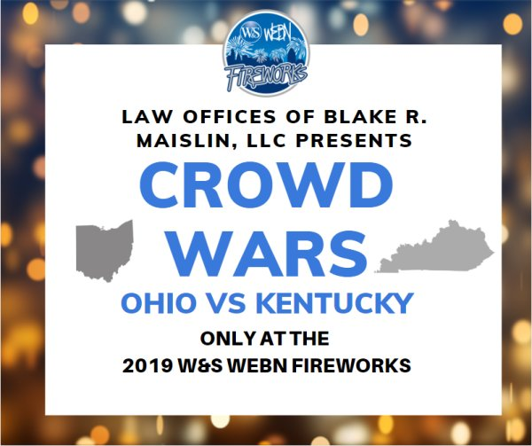 None - The 2019 Crowd Wars brought to you by Law Offices of Blake R. Maislin
