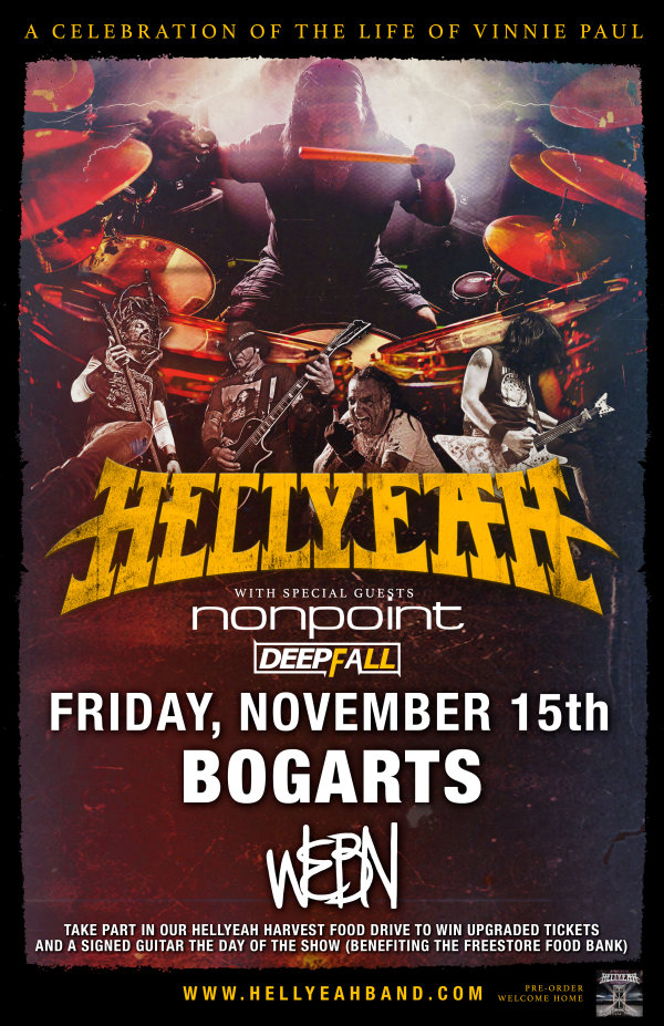 None - Win tickets to WEBN's HELLYEAH Harvest!
