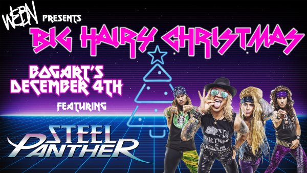 None - Win tickets to Big Hairy Christmas featuring Steel Panther!