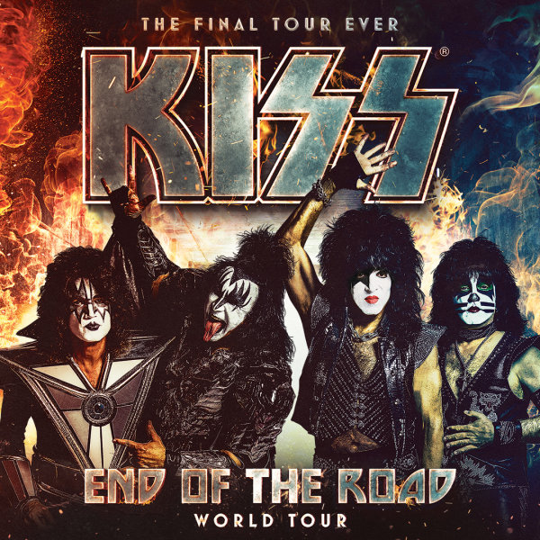 None - Win tickets to see KISS: End of the Road World Tour!