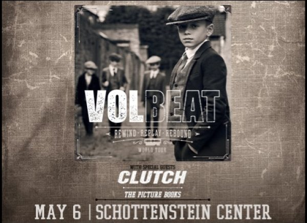 None - Win tickets to see Volbeat @ Schottenstein Center