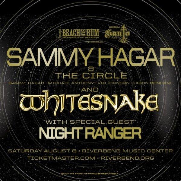 None - Win tickets to see Sammy Hagar & The Circle, Whitesnake and Night Ranger
