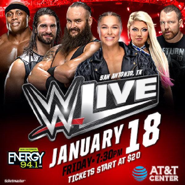 Concert Keyword: WWE 2019