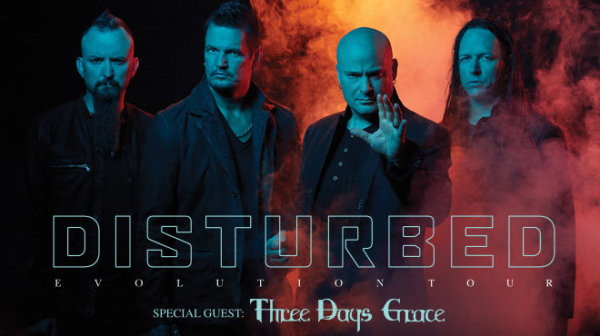 None -  Win your Disturbed and Three Days Grace tickets here!