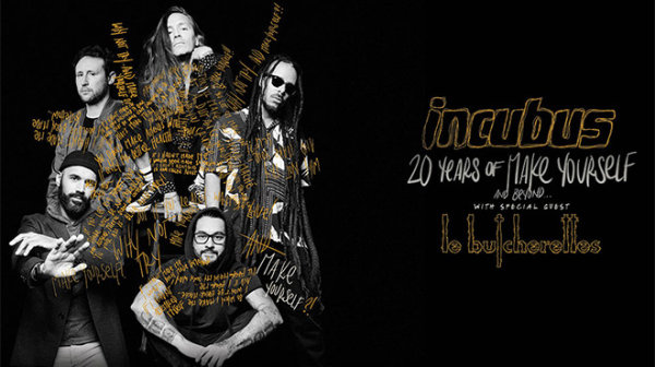 None - It's a 20-year anniversary for Incubus
