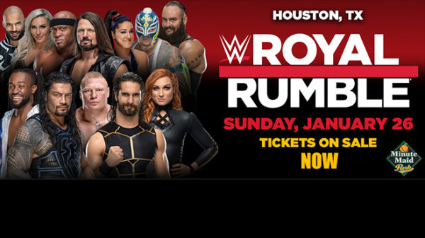 None - It a WWE Royal Rumble in Houston!