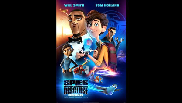 None - Win a 4-pack of Reserved Seats to our screening of SPIES IN DISGUISE!