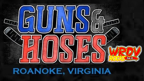 None - Win a 4-Pack of Tickets to Guns & Hoses Charity Hockey Game!