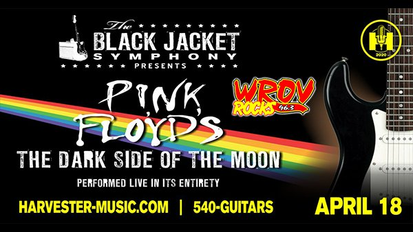 image for Win Tickets to Black Jacket Symphony Dark Side of the Moon at the Harvester!