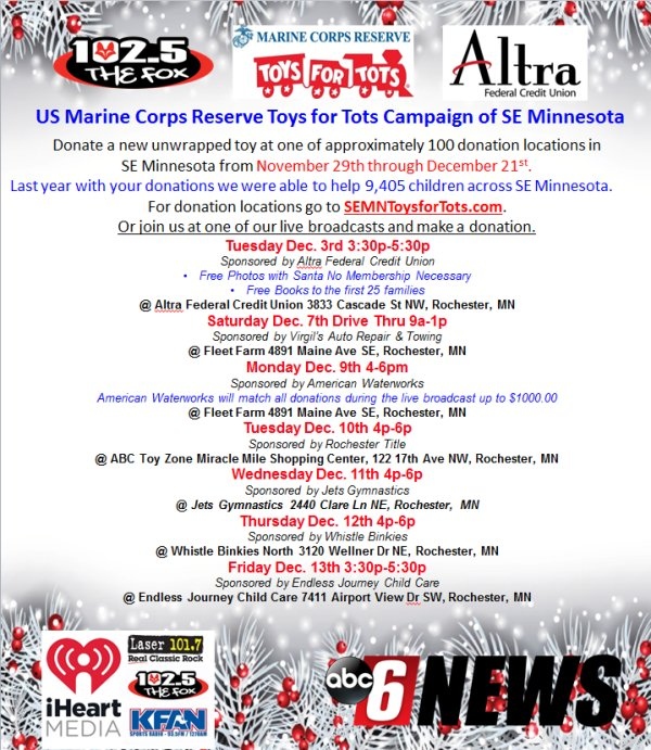 None - Toys for Tots Toy Drive