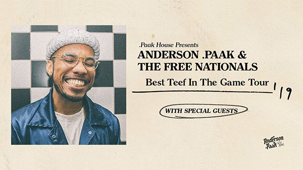 None - Enter To Win a Pair of Tickets To Anderson .Paak