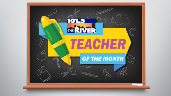 None - Teacher of the Month