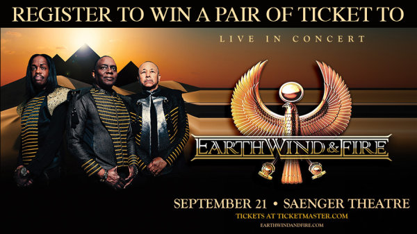 Enter To Win Tickets To Earth, Wind & Fire   98.5 WYLD
