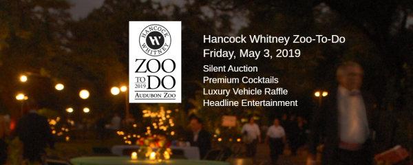 None - Hancock Whitney Zoo To Do 2019