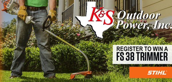 None - K&S Outdoor Power Trimmer Giveaway