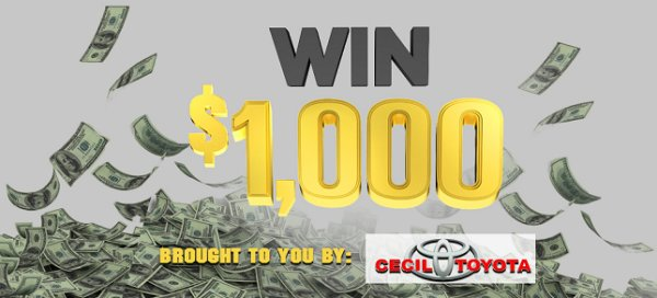 None - Win $1,000 An Hour!