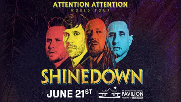 None - Win Tickets To Shinedown June 21st @ The Woodlands, Houston