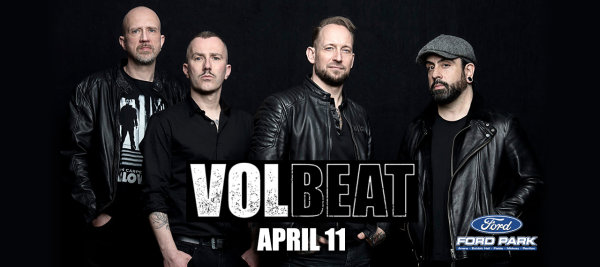 image for Enter for a Chance to Win Tickets to Volbeat!