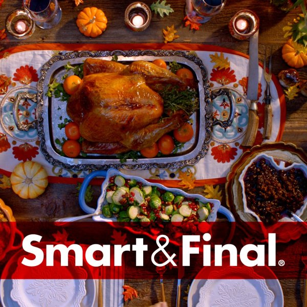None - Win a $50 Smart & Final Gift Card!