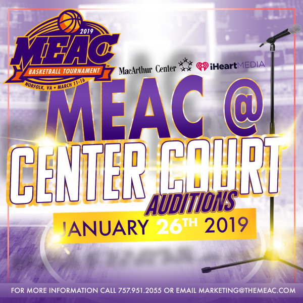 None - Skip the Line for the 2019 MEAC @ Center Court Auditions