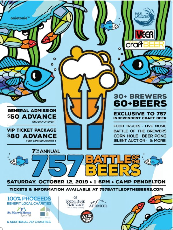 None - Win 2 VIP Tix to the 757 Battle of the Beers