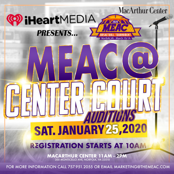 None - Skip the Line for the 2020 MEAC @ Center Court Auditions