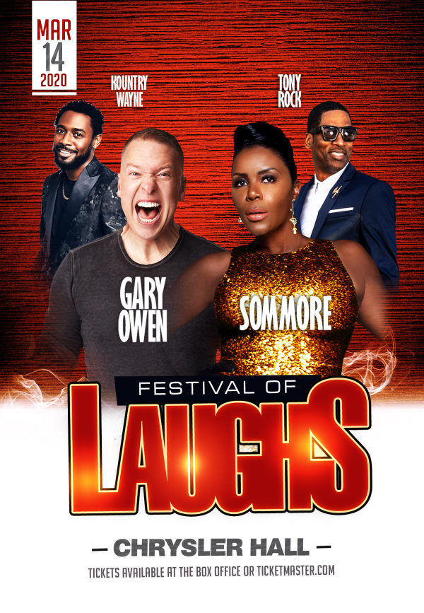 image for Win 4 Tix to Festival of Laughs