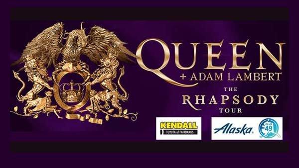 None - Queen with Adam Lambert Concert Flyaway