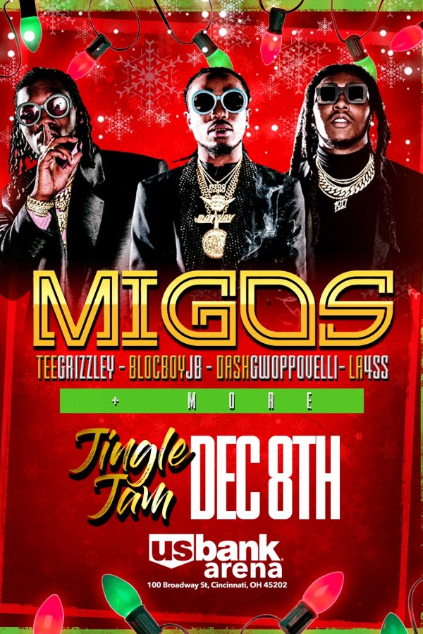 None - Jingle Jam 2018 Featuring Migos!