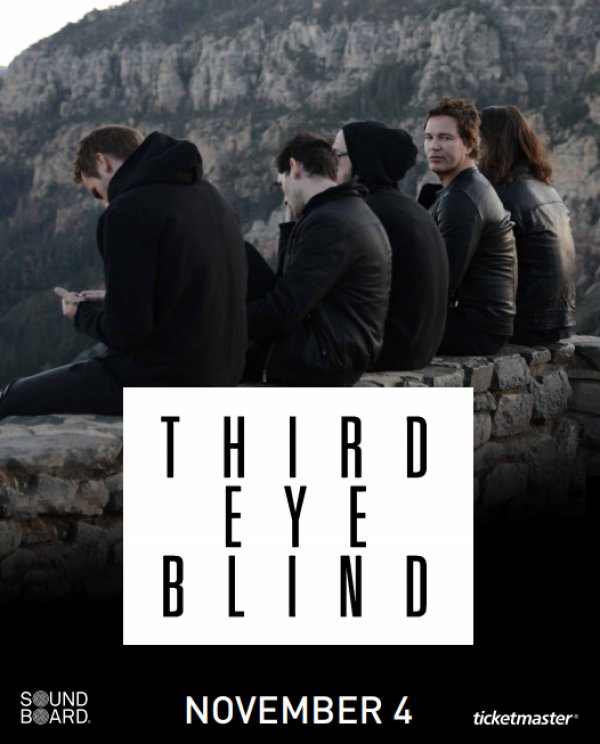 None - Win your way into a Third Eye Blind VIP Experience!