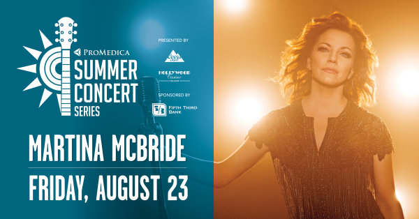 None - ENTER TO WIN A PAIR OF TICKETS TO SEE MARTINA MCBRIDE!