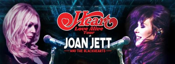 None - SEE HEART WITH JOAN JETT AND THE BLACKHEARTS!